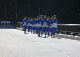 乙女湖は高地トレーニングに最適