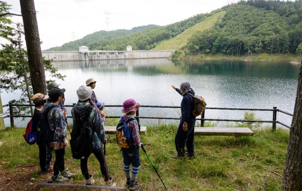 乙女湖の景色